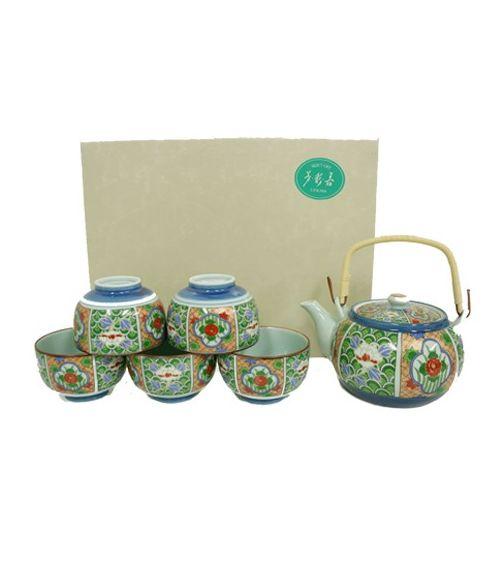 Service à thé HAIKO Théière et 6 tasses