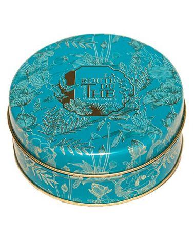 SMALL BLUE TEA BOX LA ROUTE DU THÉ